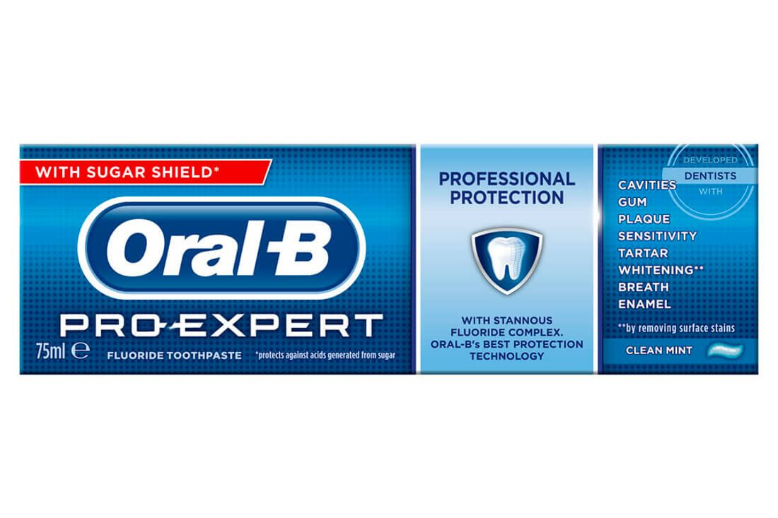 Oral-B Pro-Expert Toothpaste Review - Ape to Gentleman