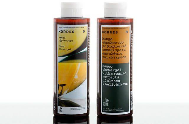 Korres-Mango-Showergel