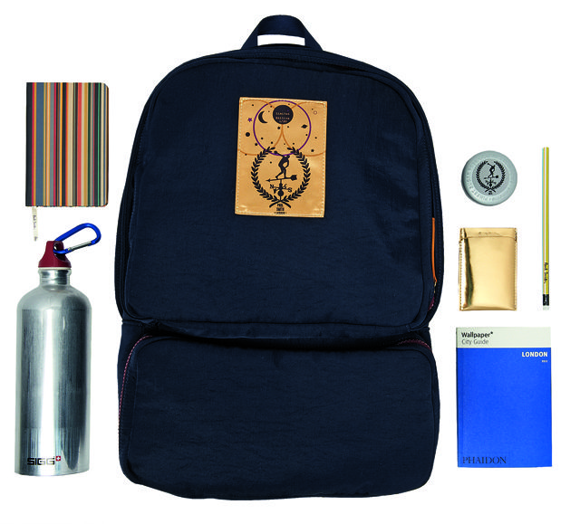 SELFRIDGES-EXCLUSIVE-Paul-Smith-Survival-Backpack-with-contents-ú310
