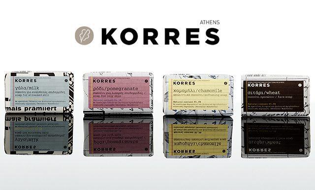 New-Korres-Soaps