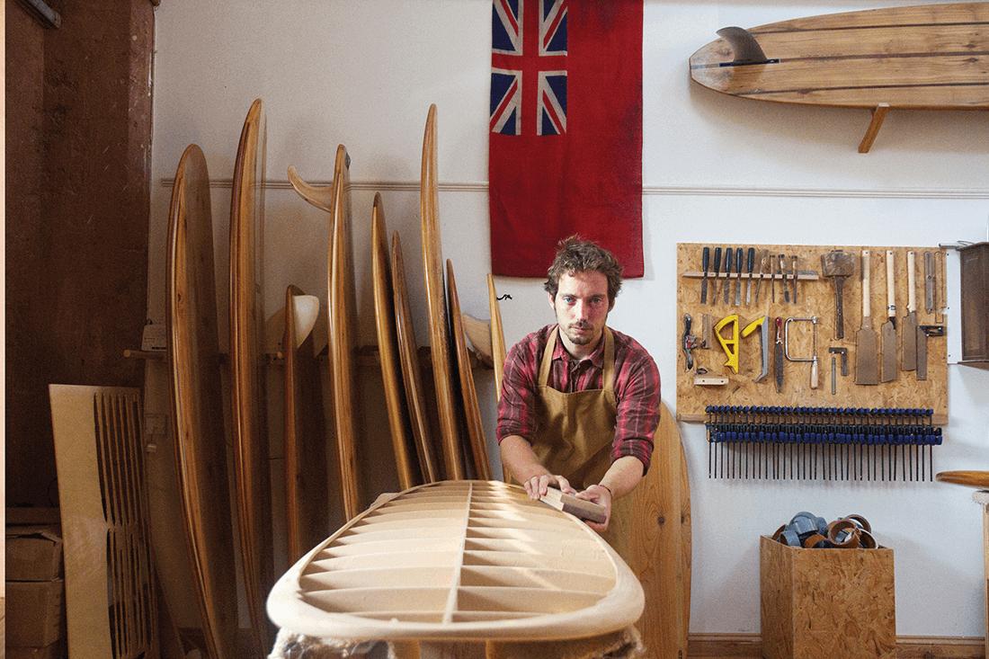 james-otter-wooden-surfboard-flag