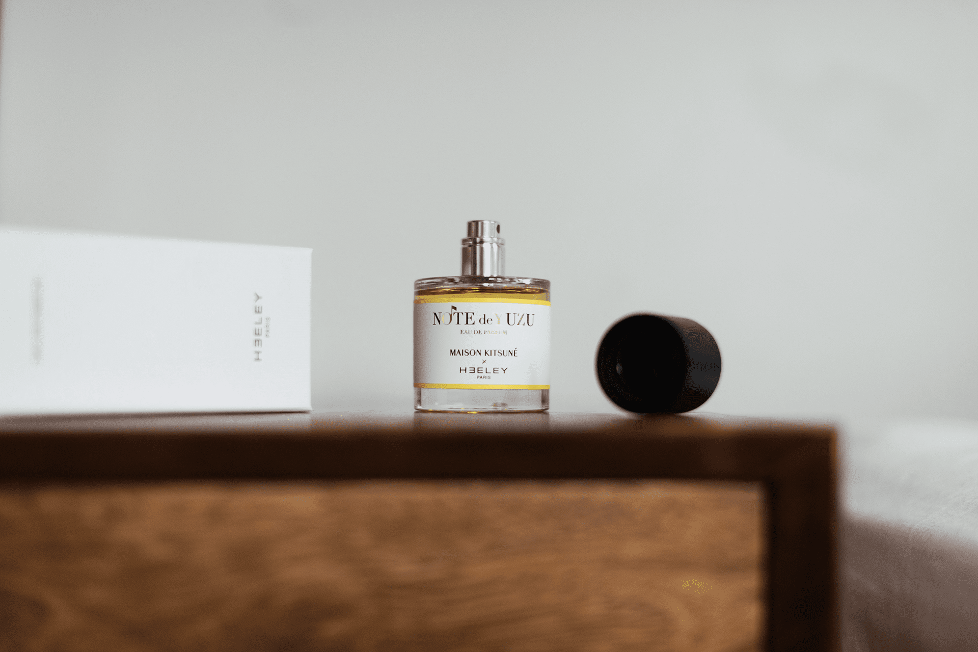 Note de yuzu eau de parfum by maison kitsun and heeley for Augmenter pression eau maison