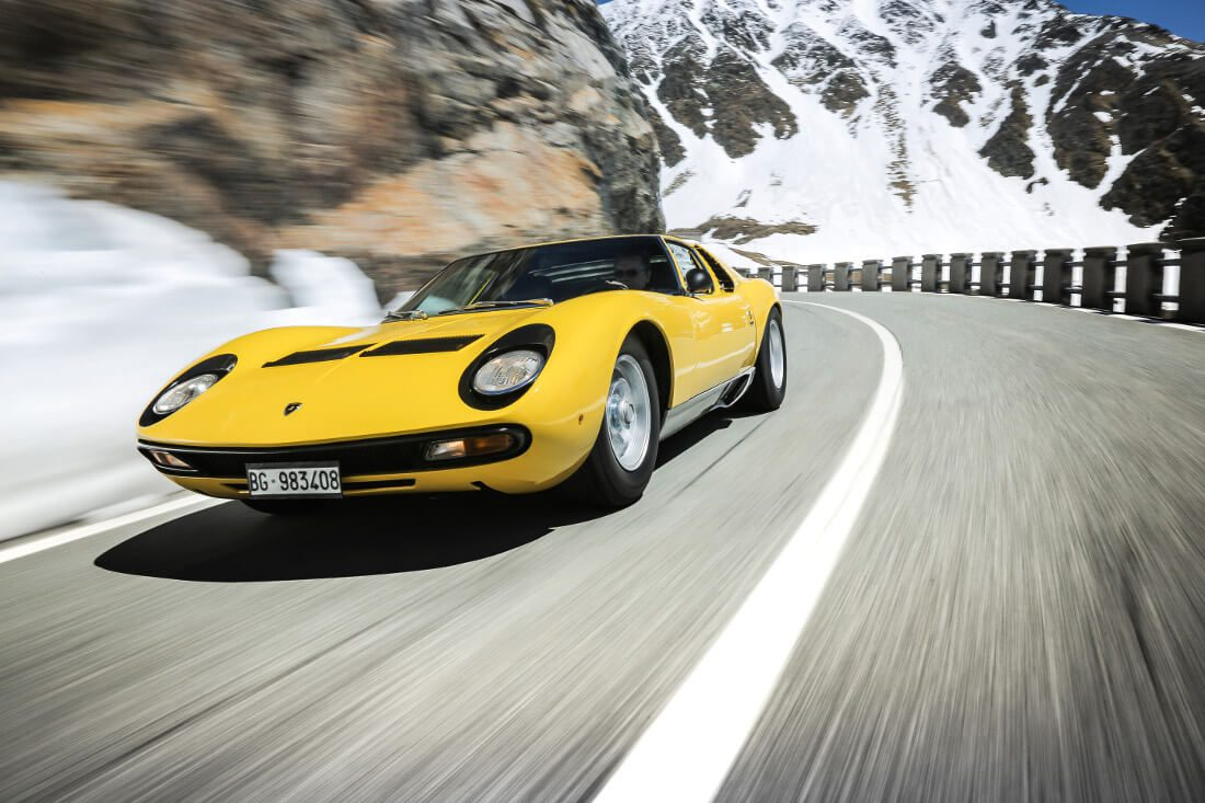 The First Supercar Reflecting On The Legacy Of The Lamborghini