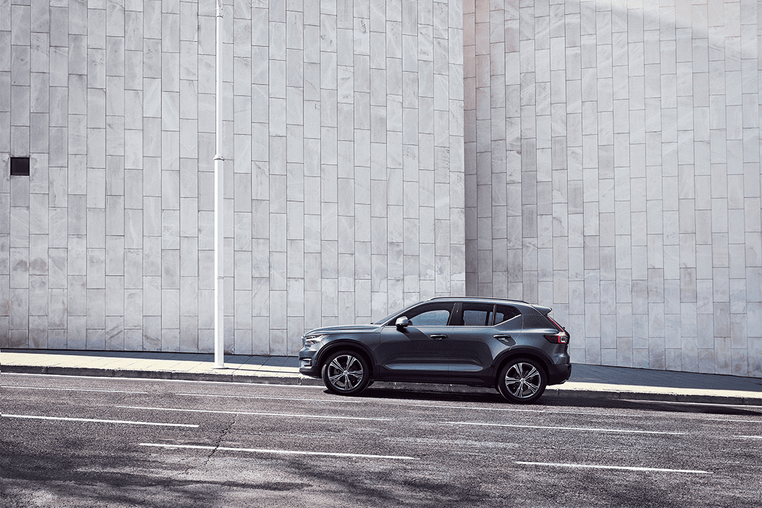 At The Wheel Ape Drives The Volvo Xc40 Suv Automotive Review