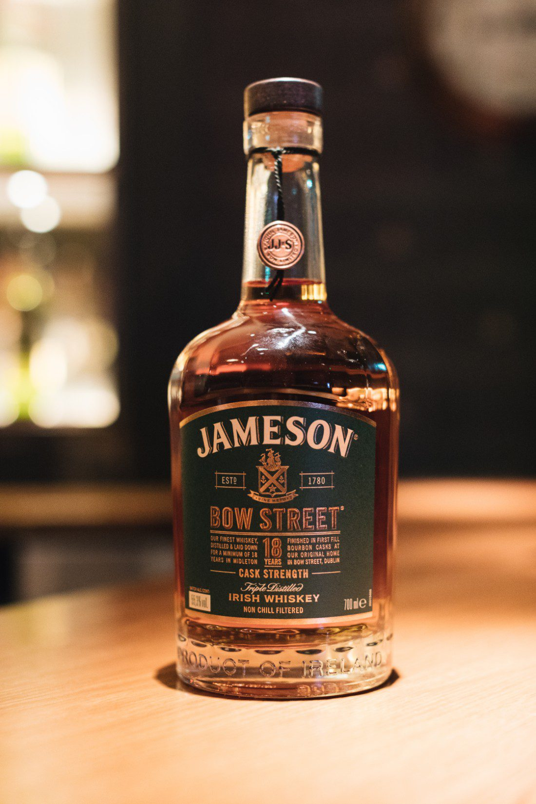 Jameson Bow Street 18 Years Cask Strength Whisky