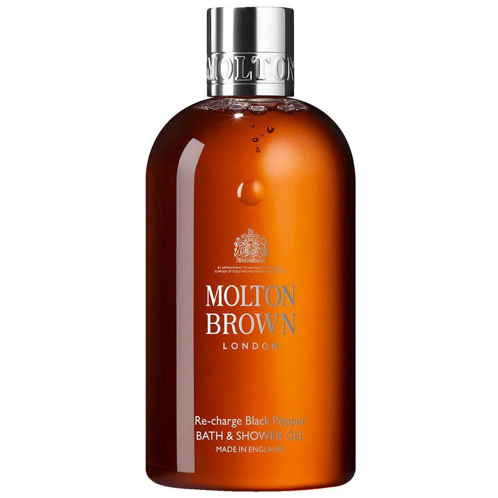 Best shower gels for men - Molton Brown Re-charge Black Pepper Bath & Shower Gel