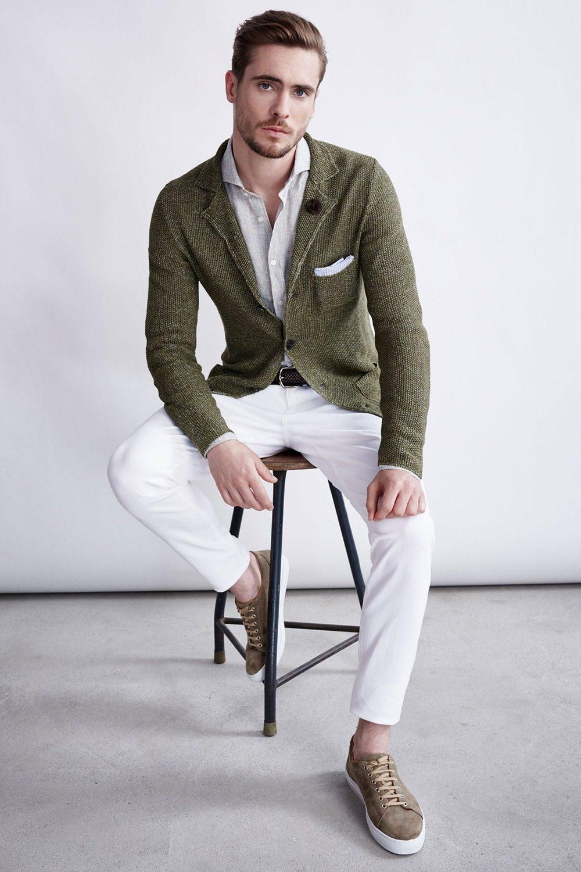 As melhores combinações de calças e blazer masculinos 31
