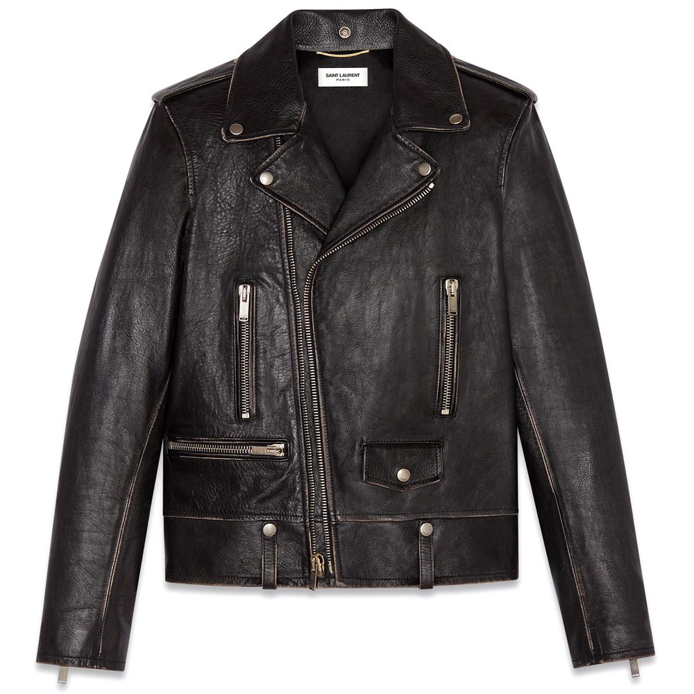 df33538c6425 Saint Laurent Bird Motorcycle Jacket, £3,420 >