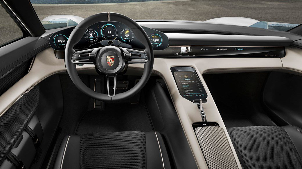 Porsche Taycan Electric Vehicle Best New Cars Interior 2019