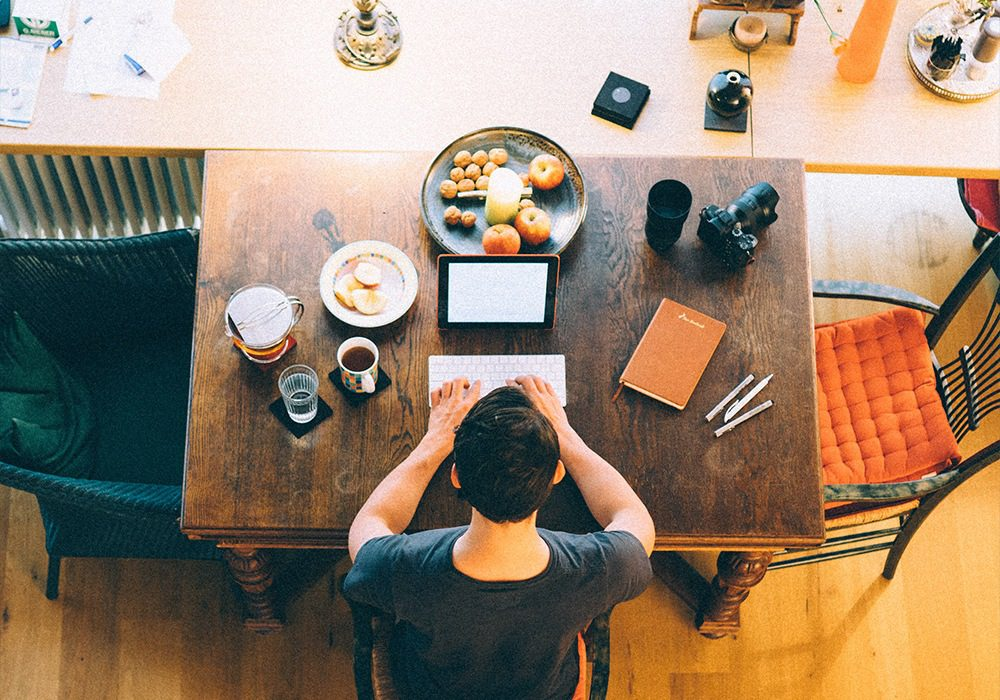 4 Steps To Being More Productive When Working From Home