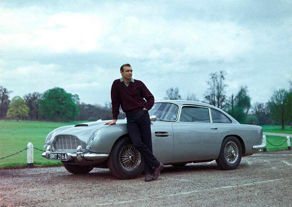 Licensed To Thrill: The Greatest James Bond Cars
