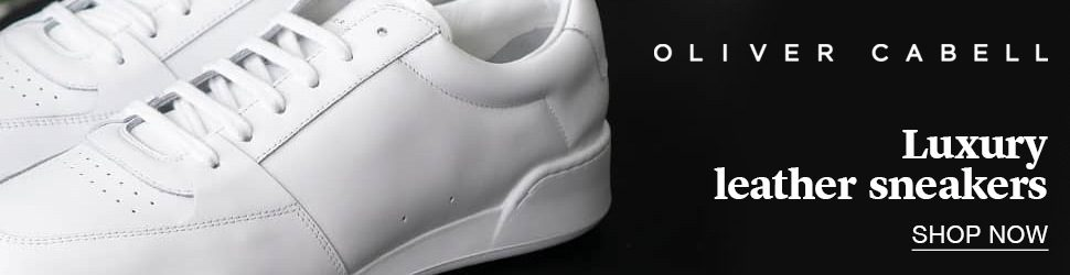 Oliver Cabell Luxury Leather Sneakers - Click to Shop